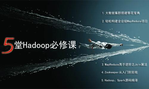 5堂Hadoop必修课,限免啦!